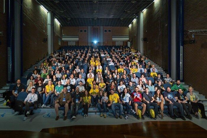 Asistentes a la WordCamp Pontevedra 2019