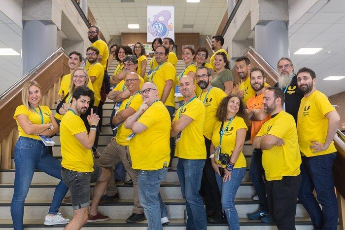 Voluntarios de la WordCamp Pontevedra 2019