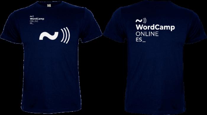 Camiseta personalizada WCES 2020
