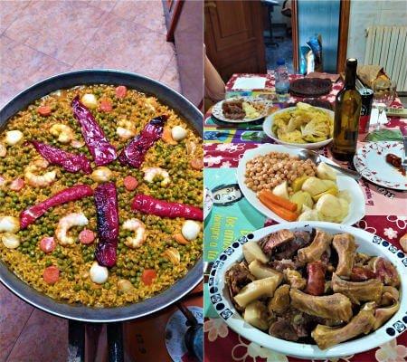 Cocido gallego y arroz de marisco en WCES 2020