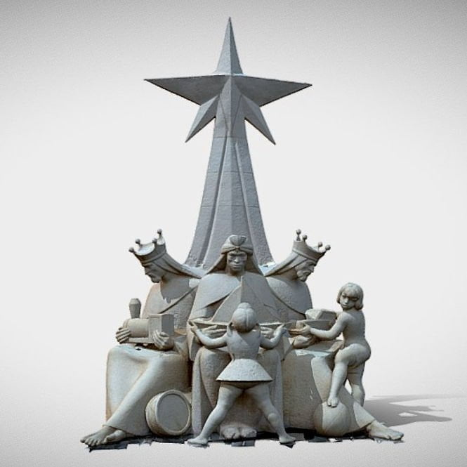 Monumento a los Reyes Magos de Ibi